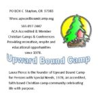 Upward Bound Camp for Persons with Special Needs, Inc.