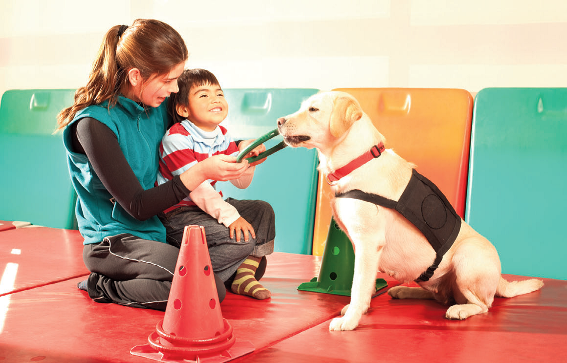 Animal Therapy For Children With Autism Spectrum Disorder